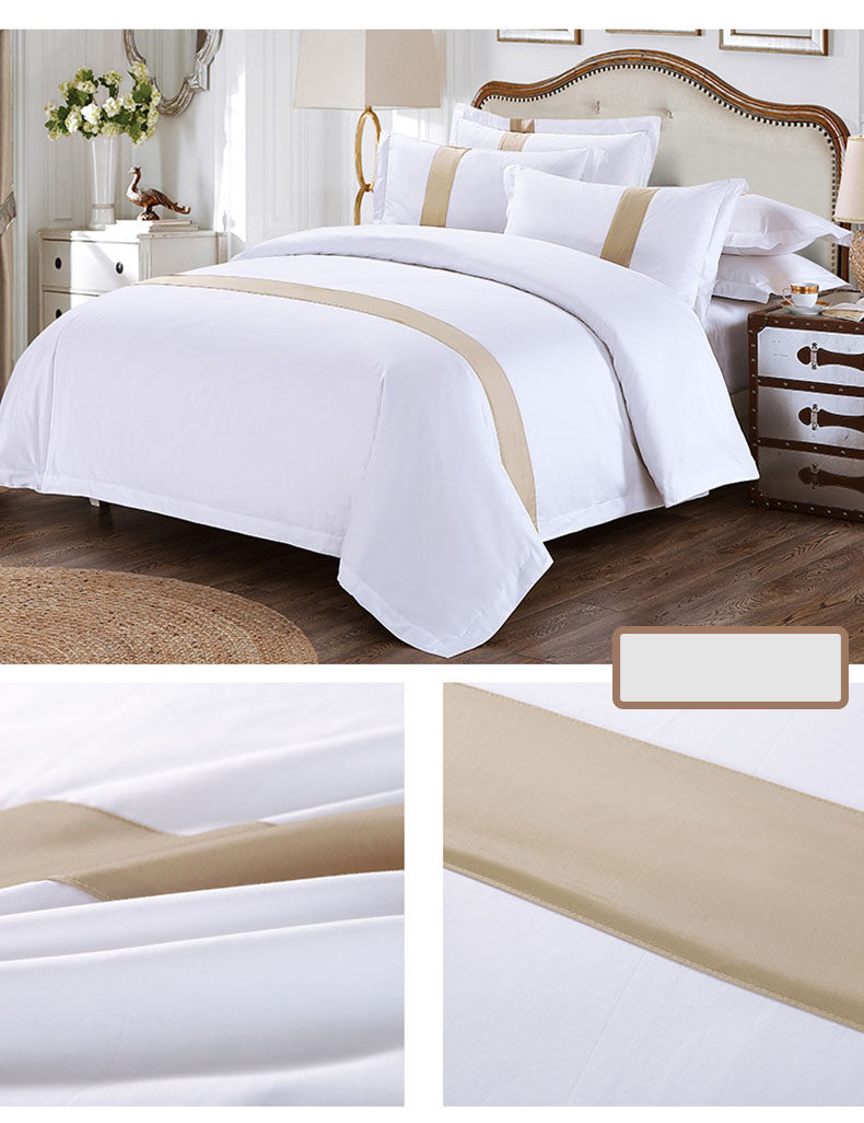 Double White Soft Polycotton Hotel Collection ložních souprav na prodej Four Seasons