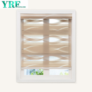 Horizontální Window Shade Blind Zebra Dual Rolety Day