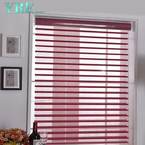 Day and Night Krém Jacquard Soft gáza Curtain Window Zebra